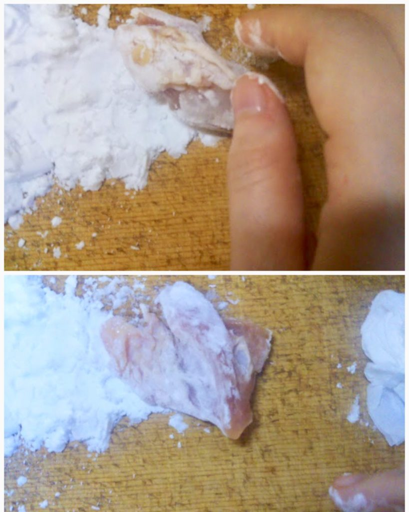 片栗粉鶏肉